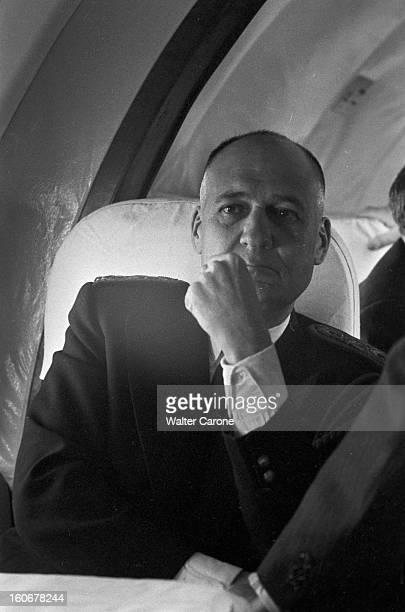 Departure Of The Republic Commissioner Andrelouis Dubois Of Morocco Au Maroc le 20 novembre 1955 lors de son départ le Commissaire de la République...
