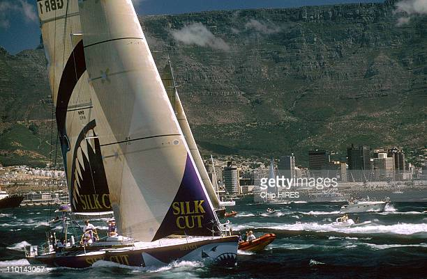 Departure of Whitbread in Cape Town South Africa in November 1997