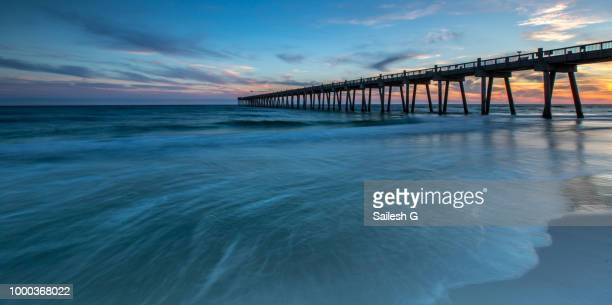 departure... - jacksonville beach stock pictures, royalty-free photos & images