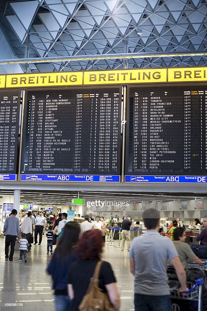Flughafen Frankfurt Departures