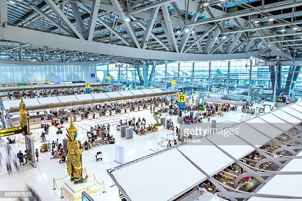 Departure Terminal of Bangkok Airport