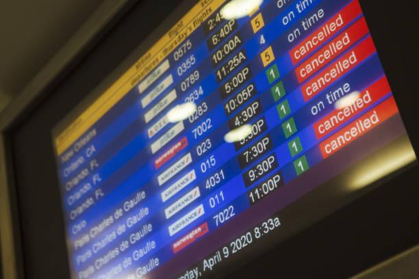 NY: JFK Airport As U.S. Travelers Dip Below 100,000 In Worst-Ever Free Fall