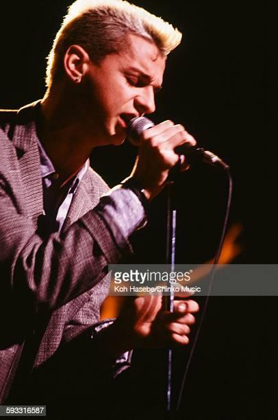 Depeche Mode David Gahan live at Shinjuku Kosei Nenkin Hall Tokyo April 7 1985