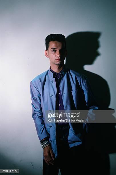 Depeche Mode David Gahan studio in Tokyo, July 1986.
