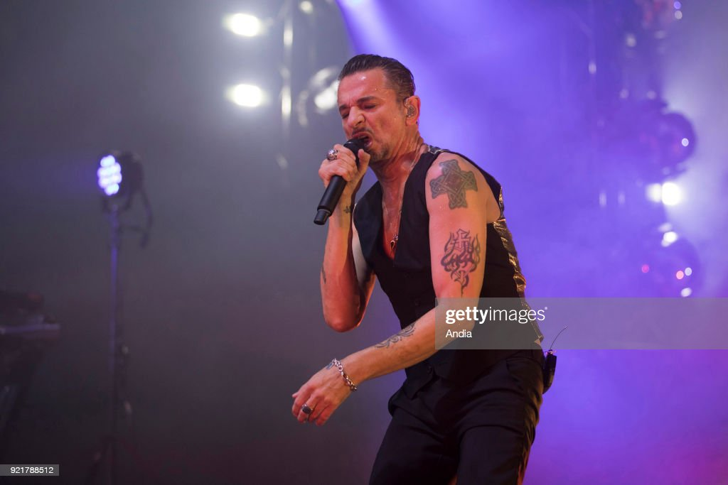 Depeche Mode in concert. : News Photo