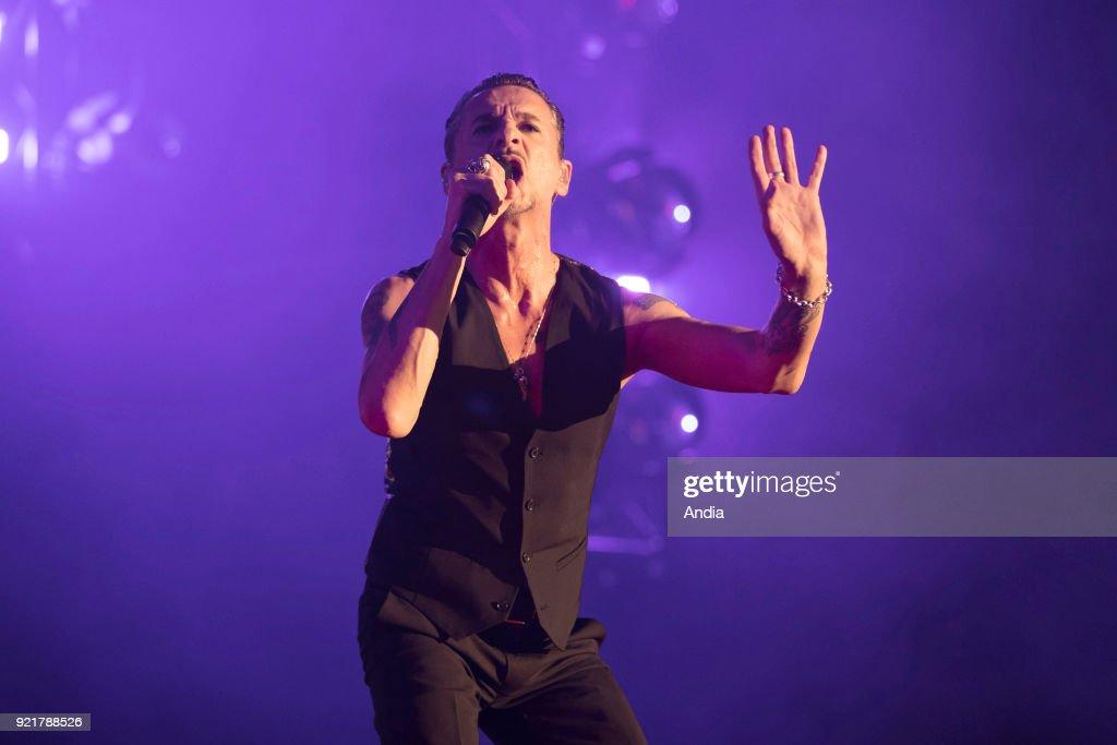 Depeche Mode in concert. : News Photo