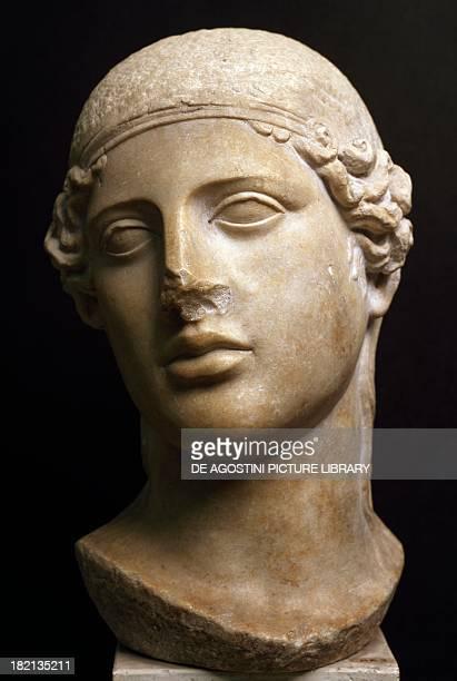 Depiction of Athena, made by Phidias. Roman Civilisation, 5th century BC. Brescia, Museo Civico Dell'Età Romana E Tempio Capitolino