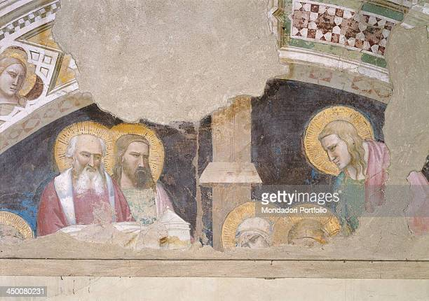 Deposition of Christ by Taddeo Gaddi 14th Century detached fresco