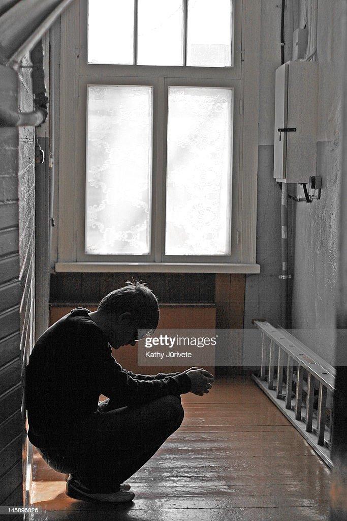Depressed : Stock Photo