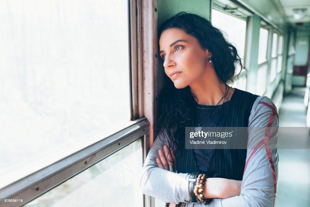 Depressed woman : Stock Photo