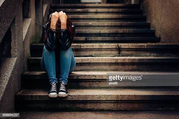 depression - adolescence stock pictures, royalty-free photos & images