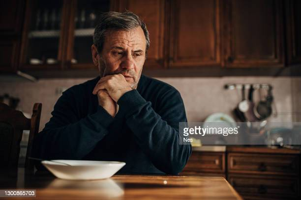 depression-sadness, loss of appetite - hungry stock pictures, royalty-free photos & images