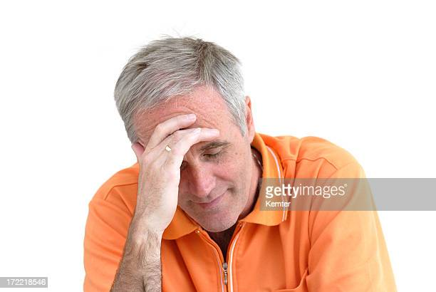 depressive man - hairy old man stock pictures, royalty-free photos & images