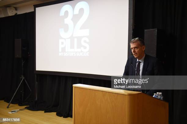 Dept of Health and Mental Hygiene Executive Deputy Commissioner Dr Gary Belkin introduces the NY Special Screening of the HBO Documentary Film 32...