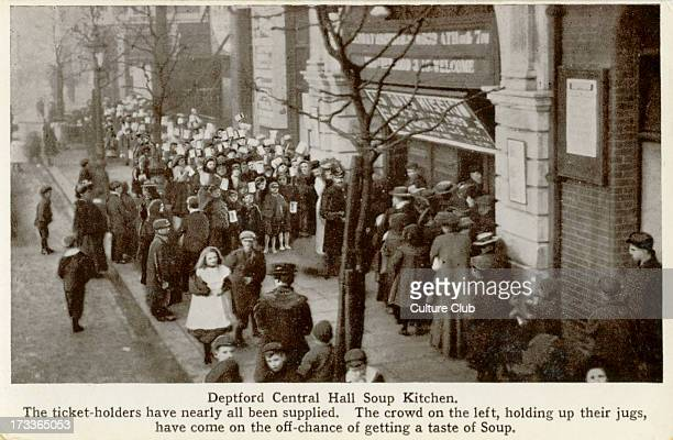 Deptford Central Hall Soup Kitchen 1900s The Deptford Central Hall was built by the Methodist Church on slum clearance land in 1903 and set up soup...
