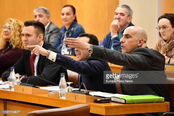 Deputies of Vox shouted insults and threats to other deputies of Ceuta Assembly on January 29, 2020 in Ceuta, Spain.