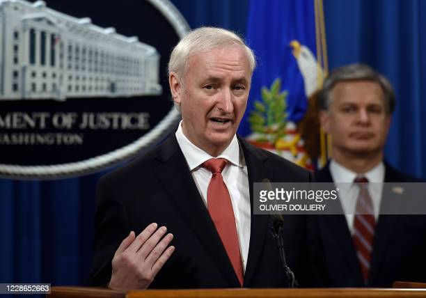 Deputy Attorney General Jeffrey A Rosen announces significant law enforcement actions related to the illegal sale of drugs and other illicit goods...