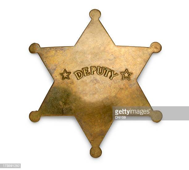 deputy badge - sheriff stock pictures, royalty-free photos & images