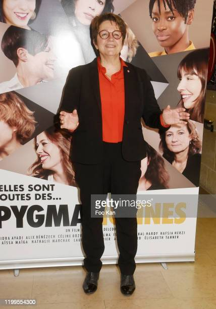 Deputy Carole Bureau Bonnard  attends Pygmalionnes Screening at Assemblee Nationale on January 14 2020 in Paris France
