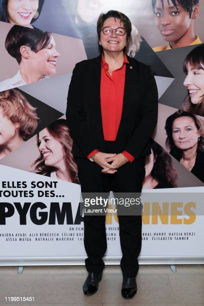 Deputy Carole Bureau Bonnard attends the Pygmalionnes Screening At Assemblee Nationale on January 14 2020 in Paris France