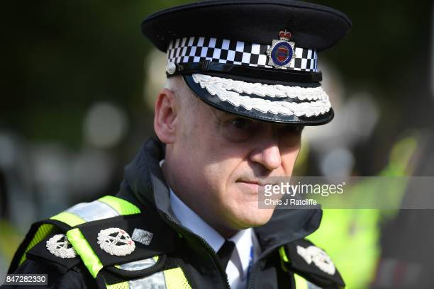 Deputy Chief Constable of BTP Adrian Hanstock speaks to the media to confirm the explosion at Parsons Green Underground Station will be treated as...