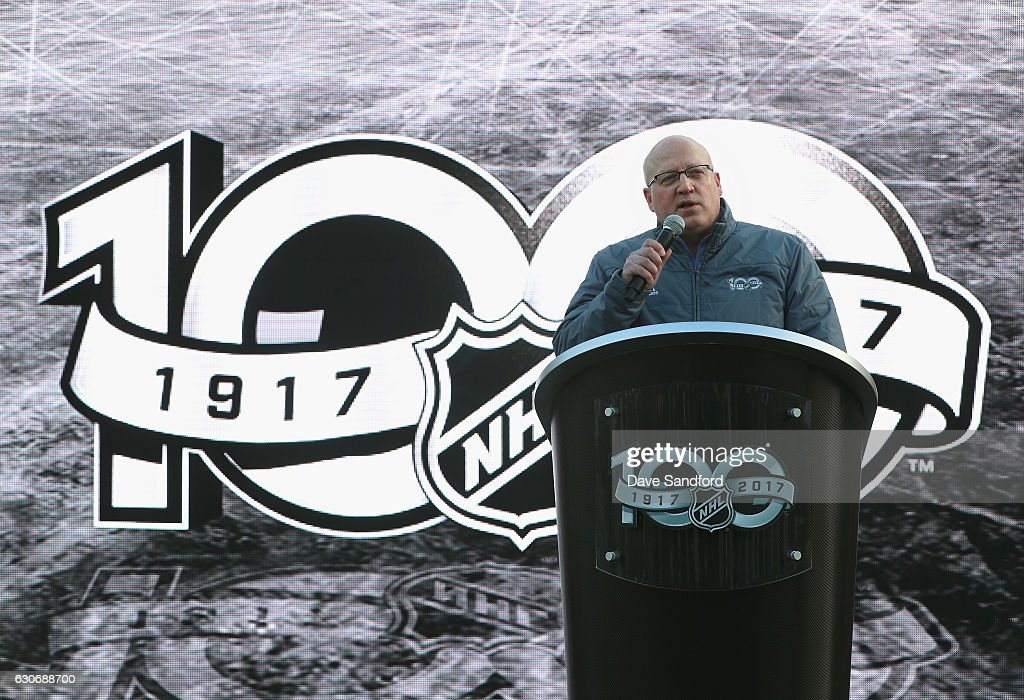 2017 Scotiabank NHL Centennial Classic - Fan Arena Unveiling : News Photo