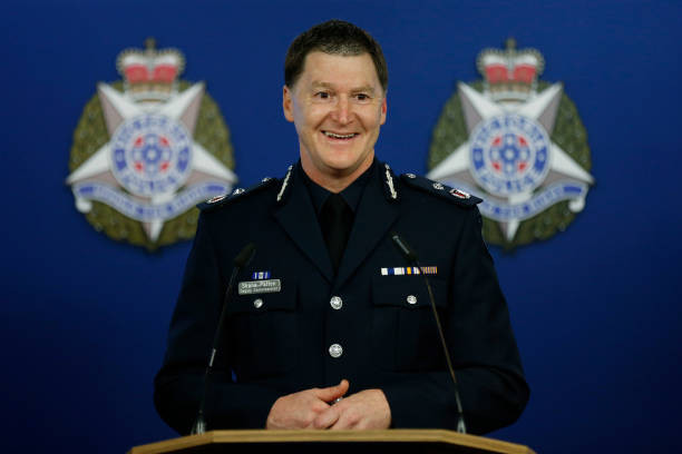 AUS: Shane Patton Announced As New Chief Commissioner Of Victoria Police