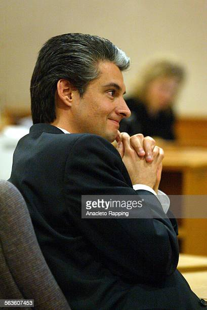 Deputy DA Tony Wold smiles after 86 guilty verdicts were read in the Andrew Luster rape trial in Ventura County Superior Court in Ventura Calif on...