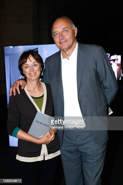 Deputy Director General at the French Fashion Institute Sylvie Ebel and Executive Chairman of the Federation of Haute Couture and Fashion Pascal...