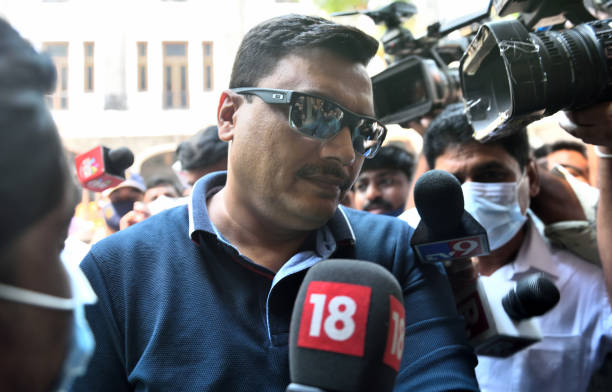IND: NCB Deputy Director General Gyaneshwar Singh Reaches Mumbai NCB Office