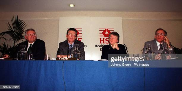 Deputy Director General of the Health and Safety Executive David Eves Director General Timothy Walker Director of HSE's Health Directorate Sandra...