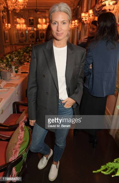 Deputy Editor of British Vogue Sarah Harris attends an intimate lunch to launch Time With Alessandra Facchinetti for harlan holden at Harry's Bar on...