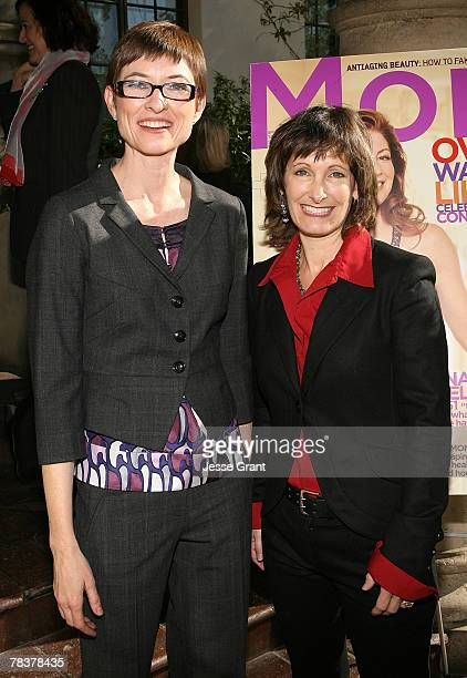 Deputy editor of More Magazine Barbara Jones and producer Gale Anne Hurd at the More Magazine and Women In Film filmmaker luncheon at Chateau Marmont...