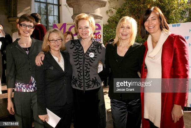 Deputy editor of More magazine Barbara Jones, executive director of Women in Film Gayle Nachlis, actress Jean Smart; actress Sally Kellerman and...