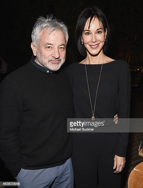 Deputy Editor of Vanity Fair Punch Hutton and guest attend VANITY FAIR and Barneys New York Dinner benefiting OXFAM hosted by Rooney Mara at Chateau...