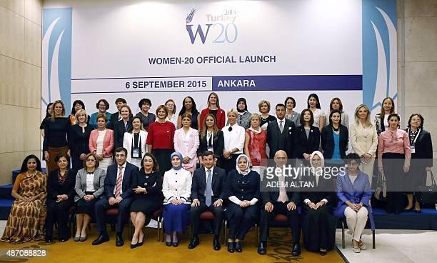 Deputy Executive Director of UN Women Lakshmi Puri Turkey's G20 Sherpa Ambassador Ayse Sinirlioglu Gaziantep Mayor Fatma Sahin Turkey's Deputy Prime...