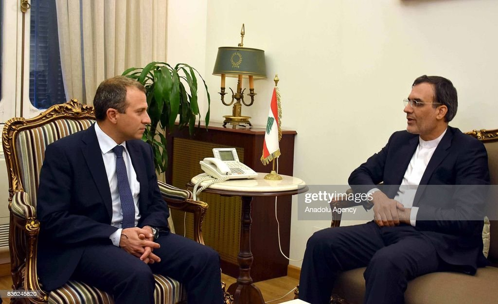 Deputy Foreign Affairs Minister of Iran, Ansari in Beirut : News Photo
