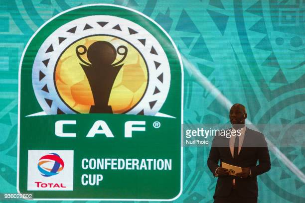 CAF Deputy General Secretary Anthony Baffoe during The draw of the group stage of Total CAF Champions League and 2nd 1/16th round of the Total CAF...