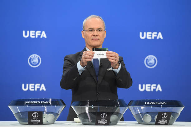 CHE: UEFA Europa Conference League 2021/22 Play-offs Round Draw