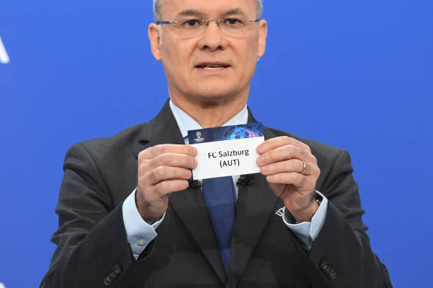 CHE: UEFA Champions League 2021/22 Play-offs Round Draw
