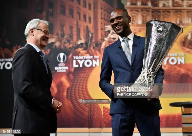 Deputy General Secretary Giorgio Marchetti Giorgio Marchetti and former French football player and ambassador for the UEFA Europa League final in...