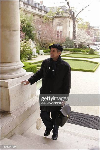 Deputy Jean Lassalle On 38Th Day Of His Hunger Strike At The French National Assembly - On April 13Th, 2006 - In Paris, France - Here, Jean Lasalle,...