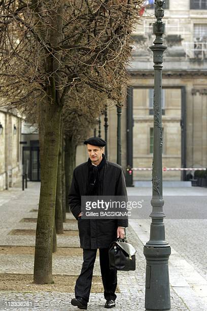 Deputy Jean Lassalle On Hunger Strike At The French National Assembly - On March 17Th, 2006 - In Paris, France - Here, Jean Lassalle, The Deputy Of...