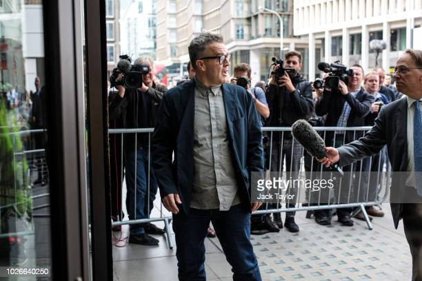 Deputy Leader of the Labour Party Tom Watson arrives ahead of a meeting of the National Executive of Britains Labour Party on September 4 2018 in...