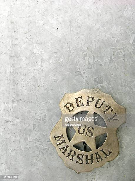 Deputy Marshal Badge with Text Space