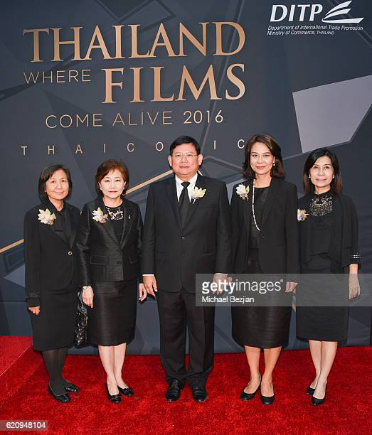 Deputy Minister of Commerce Royal Thai Government Mr Suvit Maesincee DirectorGeneral of Department of International Trade Promotion Ministry of...