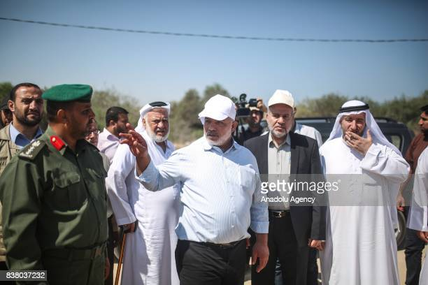 Deputy Minister of Interior Affairs of Palestine Tevfik Ebu Naim informs a committee of Palestinian Legislative Council in Gaza City Gaza on August...