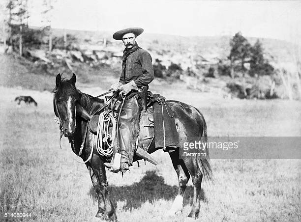 Deputy prepares to leave Flagstaff to intervene in the Graham-Tewksbury feud, also known as the Pleasant Valley War.