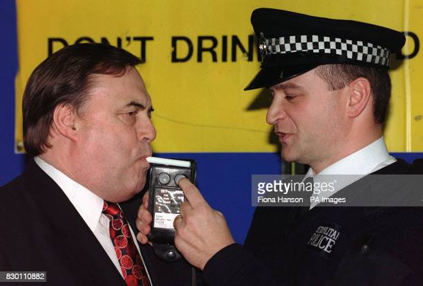 Deputy Prime Minister John Prescott was breathalysed by police today for the second time in four days today and passed again However the latest test...