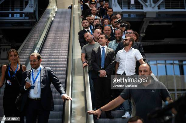 Deputy Prime Minister Luigi di Maio takes part at the national meeting of 'Confartigianato' on June 26 2018 in Rome Italy